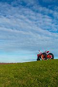 Tractor on Block Island