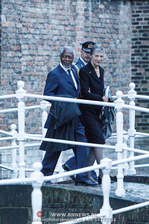 NLD/Delft/20131102 - Herdenkingsdienst voor de overleden prins Friso, Kofi Annan