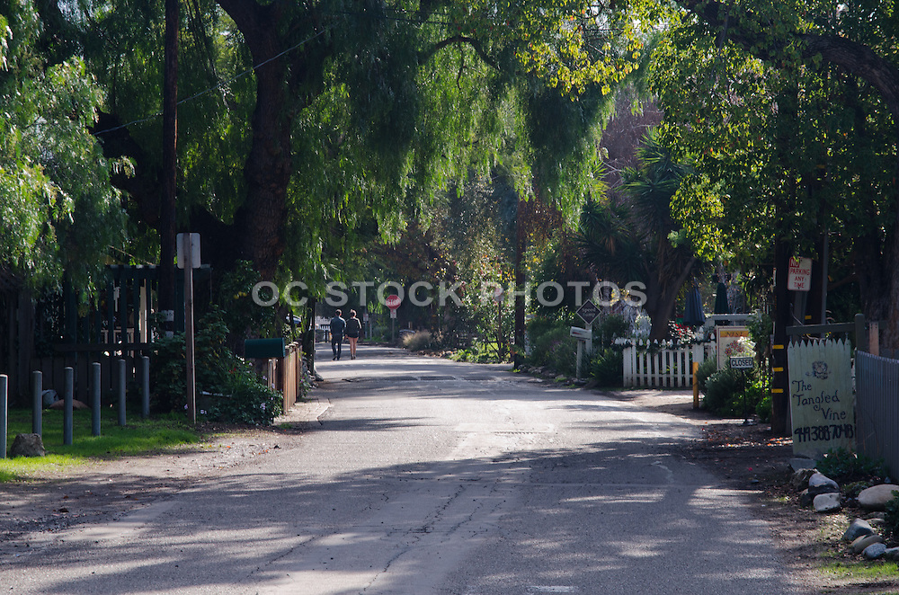 Los Rios Historic District in San Juan Capistrano California