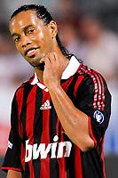 """RONALDINHO Milan<br /> Pescara 14/8/2009 Stadio """"Adriatico"""" <br /> Trofeo Tim Calcio 2009/2010<br /> Inter Milan 2-0<br /> Foto Andrea Staccioli Insidefoto"""