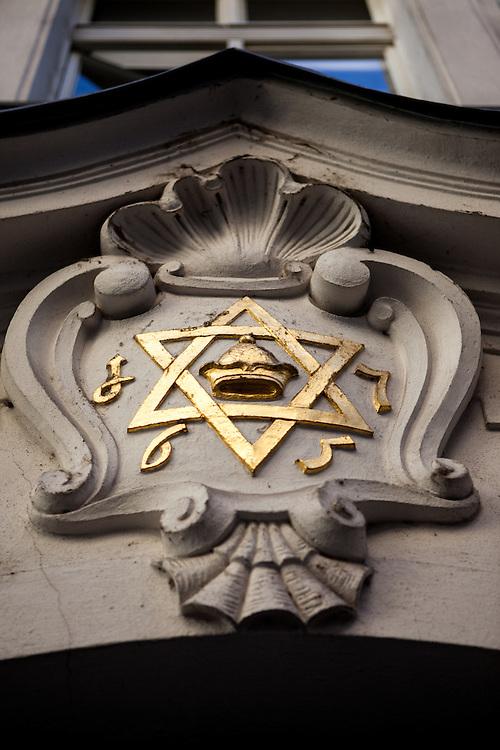 Das jüdische Rathaus in der Josefs Stadt.