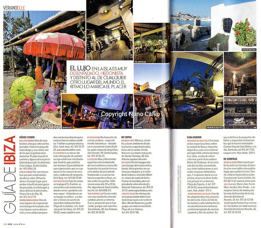 Interior - ELLE<br /> Guide on Ibiza