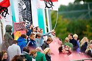 ALMERE - Hoofdklasse heren.<br /> Almeerse - Amsterdam 1-2<br /> Foto: Almere fans.<br /> WORLDSPORTPICS COPYRIGHT FRANK UIJLENBROEK