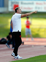 Fotball<br /> Albania v Qatar<br /> Foto: Gepa/Digitalsport<br /> NORWAY ONLY<br /> <br /> HARTBERG,AUSTRIA,29.MAY.16 - SOCCER - UEFA European Championship 2016 in France, preview, international match, Albania vs Qatar, friendly match. Image shows head coach Gianni De Biasi (ALB).