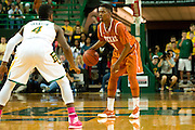 WACO, TX - JANUARY 25: Isaiah Taylor #1 of the Texas Longhorns brings the ball up court against the Baylor Bears on January 25, 2014 at the Ferrell Center in Waco, Texas.  (Photo by Cooper Neill/Getty Images) *** Local Caption *** Isaiah Taylor