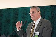 18414Academic & Research Center Groundbreaking September 29, 2007..Trustee Daniel DeLawder (BSEd '71)