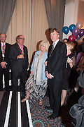 LUIGI BONOMI; JUDY FINNIGAN; RICHARD MADELEY Romantic Novelists Association The RoNas Awards - RICHARD MADELEY & JUDY FINNIGAN - ballroom of the RAF Club, 128 Piccadilly, London. 26 February 2013