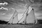 "France Saint - Tropez October 2013, Classic Yachts racing at the Voiles de Saint - Tropez<br /> C,C1,MARIQUITA,""33,7"",19M JI AURIQUE/1911,WILLIAM FIFE<br /> C,D1,MARISKA,""27,75"",15MJI AURIQUE/1908,WILLIAM FIFE"