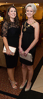 repro free: Roisin Burke Fingal Co. Co. and Claire Solon President SCSI at the SCSI, Society of Chartered Surveyors of Ireland West branch Annual Dinner 2017 at the Ardilaun Hotel, Galway. Photo:Andrew Downes.