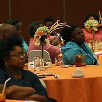 Many braved the weather Saturday to attend the Sister, S.O.A.R. empowerment luncheon at the Summit Center