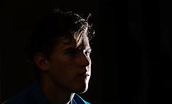 01.08.2014, Sportpark, Kitzbuehel, AUT, ATP World Tour, bet at home Cup 2014, Pressekonferenz, im Bild Dominic Thiem (AUT) // Dominic Thiem of Austria during a pressconference of bet at home Cup 2014 tennis tournament of the ATP World Tour at the Sportpark in Kitzbuehel, Austria on 2014/08/01. EXPA Pictures © 2014, PhotoCredit: EXPA/ JFK