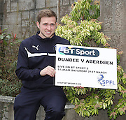 Greg Stewart  - Dundee v Aberdeen pre-match press <br /> <br />  - &copy; David Young - www.davidyoungphoto.co.uk - email: davidyoungphoto@gmail.com