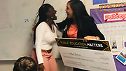 Northside High School Senior Tren'kell Reeves is named the winner of the student emcee contest for the HISD Foundation's 2019 Public Education Matters Benefit Dinner.