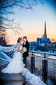 Zara & Tim's winter wonderland wedding