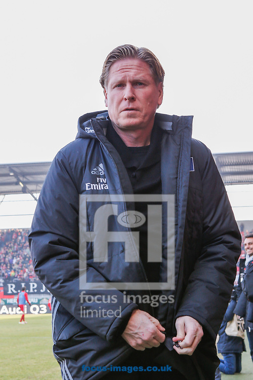 Markus Gisdol, head coach of Hamburger SV during the Bundesliga match at Audi Sportpark, Ingolstadt<br /> Picture by EXPA Pictures/Focus Images Ltd 07814482222<br /> 28/01/2017<br /> *** UK &amp; IRELAND ONLY ***<br /> <br /> EXPA-EIB-170128-1289.jpg