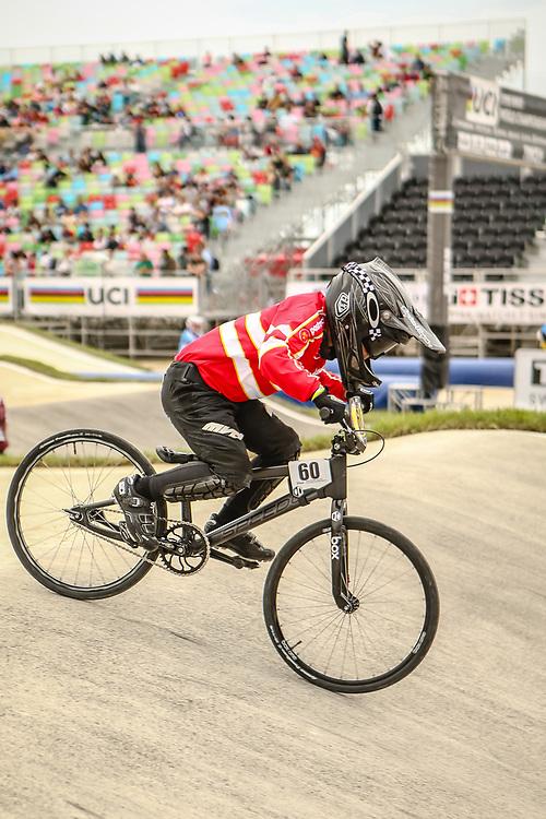 2018 UCI World Championships<br /> Baku, Azerbaijan<br /> 8 Boys #60 (LUCA Taj) DEN