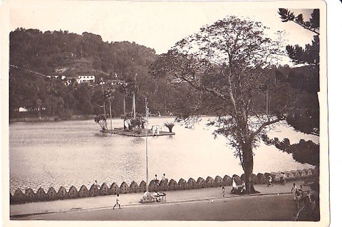 The Lake &ndash; Kandy<br /> <br /> Photographs taken by William Lyons whilst in Ceylon 1943/44.