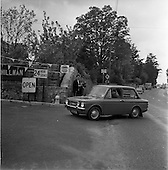 1965 - Rosemary Smith in Hillman Imp