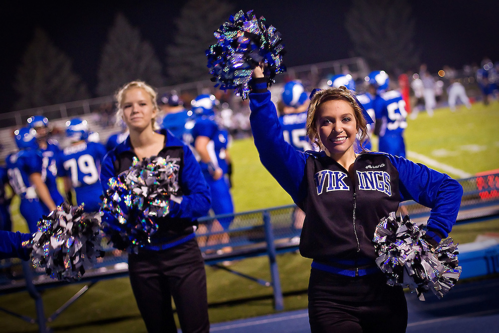Coeur d'Alene High Viking cheerleader Alana-Christine Jolliff