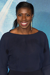 © Licensed to London News Pictures. 13/03/2018. London, UK. CHRISTINE OHURUOGU arrives for the European film premiere of A Wrinkle In Time. Photo credit: Ray Tang/LNP