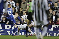 Photo: Lee Earle.<br /> Reading v Newcastle United. The Barclays Premiership. 30/04/2007.Reading's Dave Kitson scores the opening goal.