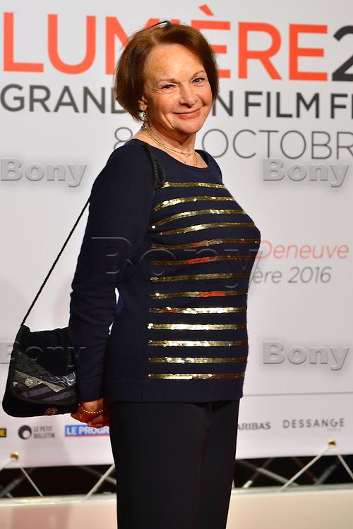 Fran&ccedil;oise Arnoul<br /> Lyon 8 oct 2016 - Festival Lumi&egrave;re 2016 - C&eacute;r&eacute;monie d&rsquo;Ouverture<br /> 8th Film Festival Lumiere In Lyon : Opening Ceremony