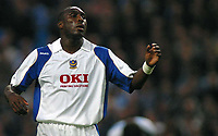 Photo: Paul Thomas.<br /> Manchester City v Portsmouth. The Barclays Premiership. 23/08/2006.<br /> <br /> Sol Campbell, New Portsmouth player.