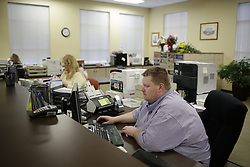 Rowan County Deputy Clerk Brian Mason said he would issue same-sex marriage licenses even if his boss told him not to. Kim Davis who did not return to work after being released from jail, Wednesday, Sept. 09, 2015 at Rowan County Courthouse in Morehead. <br /> <br /> Photo by Jonathan Palmer, Special to the CJ