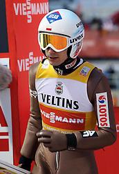 03.02.2017, Heini Klopfer Skiflugschanze, Oberstdorf, GER, FIS Weltcup Ski Sprung, Oberstdorf, Skifliegen, im Bild Kamil Stoch (POL) // Kamil Stoch (POL) during mens FIS Ski Flying World Cup at the Heini Klopfer Skiflugschanze in Oberstdorf, Germany on 2017/02/03. EXPA Pictures © 2017, PhotoCredit: EXPA/ Sammy Minkoff<br /> <br /> *****ATTENTION - OUT of GER*****