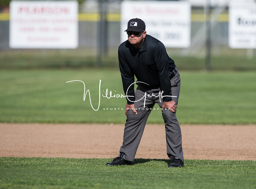 (Photograph by Bill Gerth/ for Max Preps/4/11/17) Leigh vs Westmont in a BVAL Baseball Game at Westmont High School, Campbell CA on 4/11/17.