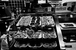 2011 February 12: Krispy Kreme Doughnuts on Franklin Street. Chapel Hill, NC