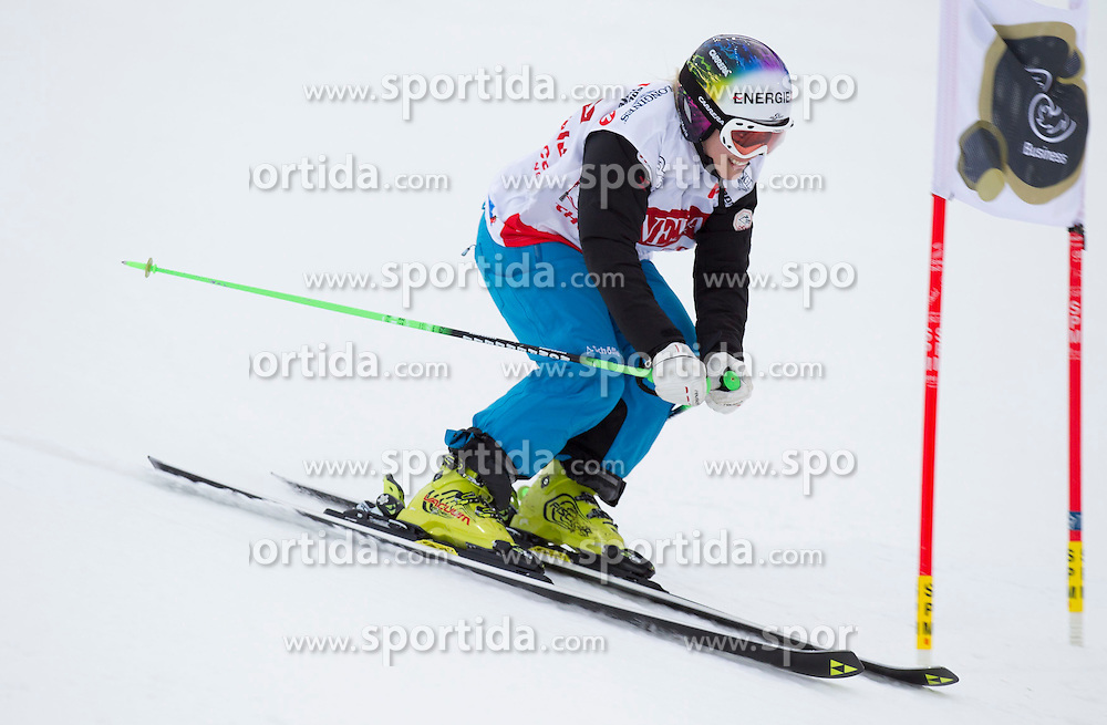 26.01.2015, Planai, Schladming, AUT, FIS Skiweltcup Alpin, Schladming, Sporthilfe Charity Promi Race, im Bild Skicross Weltmeisterin Andrea Limbacher // Andrea Limbacher during the Sporthilfe Charity VIP race at the Planai Course in Schladming, Austria on 2015/01/26, EXPA Pictures © 2015, PhotoCredit: EXPA/ Erwin Scheriau