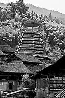 Dali Dong Minority Village in Guizhou province.