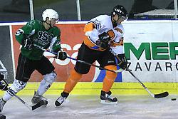 Matic Kralj at ice hockey match between Toja Olimpija and Stavbar Maribor,  on November 19, 2008 in Arena Tivoli, Ljubljana, Slovenia. Stavbar Maribor won the match 3:2.  (Photo by Vid Ponikvar / Sportida)