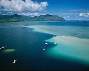 Kaneohe Bay, Kaneohe, Oahu, Hawaii, USA<br />