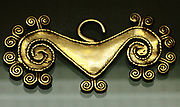 Colombian gold work, circa 1100-1500 AD.