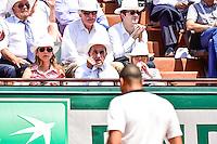 Jean GACHASSIN / Jo Wilfried TSONGA - 05.06.2015 - Jour 13 - Roland Garros 2015<br />Photo : Dave Winter / Icon Sport