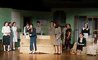 "Agatha Christie's  ""And Then There Were None...."" at Laconia High School's dress rehearsal January 9, 2013."