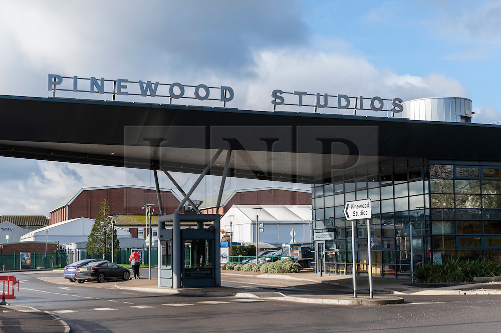 """© Licensed to London News Pictures. 10/02/2016. Iver Heath, UK.  Pinewood Studios, in Iver Heath Buckinghamshire, and home to the Star Wars and James Bond movies, has announced that it has appointed investment bank Rothschild to assist with a strategic review of the """"overall capital base and structure"""" including the option of a sale in order to """"maximise value to its shareholders"""".  Photo credit : Stephen Chung/LNP"""
