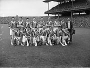 12/05/1957<br /> 05/12/1957<br /> 12 May 1957<br /> National Hurling League Finals: Kilkenny v Tipperary at Croke Park, Dublin. Kilkenny Team.