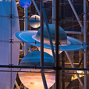 Planets at the Hayden Planetarium within The Rose Center for Earth & Space at the American Museum of Natural History in New York City