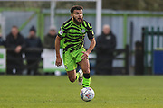 Forest Green Rovers Dominic Bernard(3) runs forward during the EFL Sky Bet League 2 match between Forest Green Rovers and Plymouth Argyle at the New Lawn, Forest Green, United Kingdom on 16 November 2019.