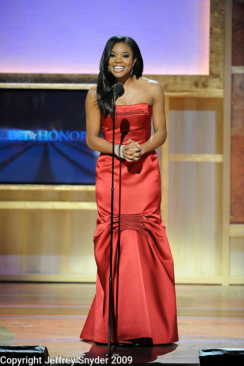Gabrielle Union at the 2nd Annual BET Honors
