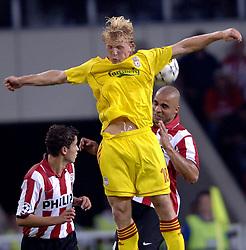 12-09-2006 VOETBAL: CHAMPIONS LEAGUE: PSV - LIVERPOOL: EINDHOVEN<br /> PSV en Liverpool eindigt zoals ze begonnen zijn 0-0 / Dirk Kuyt<br /> ©2006-WWW.FOTOHOOGENDOORN.NL