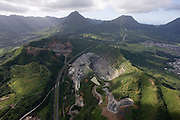 Kapaa Quarry, Kaneohe, Oahu, Hawaii<br />