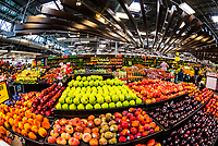 Extreme abundance of produce at a Ralph's Supermarket in Sherman Oaks (Los Angeles), California USA.