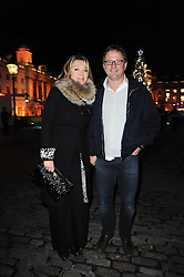 KIRSTY YOUNG and NICK JONES at a Winter Party given by Tiffany & Co. Europe to launch the 10th season of Somerset House's Ice Skating Rink at Somerset House, The  Strand, London on 16th November 2009.