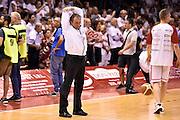DESCRIZIONE : Campionato 2014/15 Serie A Beko Grissin Bon Reggio Emilia - Dinamo Banco di Sardegna Sassari Finale Playoff Gara7 Scudetto<br /> GIOCATORE : Dino Seghetti arbitro<br /> CATEGORIA : arbitro pregame<br /> SQUADRA : arbitro<br /> EVENTO : Campionato Lega A 2014-2015<br /> GARA : Grissin Bon Reggio Emilia - Dinamo Banco di Sardegna Sassari Finale Playoff Gara7 Scudetto<br /> DATA : 26/06/2015<br /> SPORT : Pallacanestro<br /> AUTORE : Agenzia Ciamillo-Castoria/GiulioCiamillo<br /> GALLERIA : Lega Basket A 2014-2015<br /> FOTONOTIZIA : Grissin Bon Reggio Emilia - Dinamo Banco di Sardegna Sassari Finale Playoff Gara7 Scudetto<br /> PREDEFINITA :