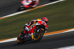 November 12, 2017 - Valencia, Valencia, Spain - 93 Marc Marquez (Spanish) Repsol Honda Team Honda during the race day of the Gran Premio Motul de la Comunitat Valenciana, Circuit of Ricardo Tormo,Valencia, Spain. Sunday 12th of november 2017. (Credit Image: © Jose Breton/NurPhoto via ZUMA Press)