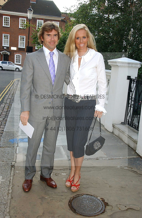 PAUL &amp; VICTORIA STEWART, he is the son of racing driver Jackie Stewart at Sir David &amp; Lady Carina Frost's annual summer party held in Carlyle Square, Chelsea, London on 5th July 2006.<br />